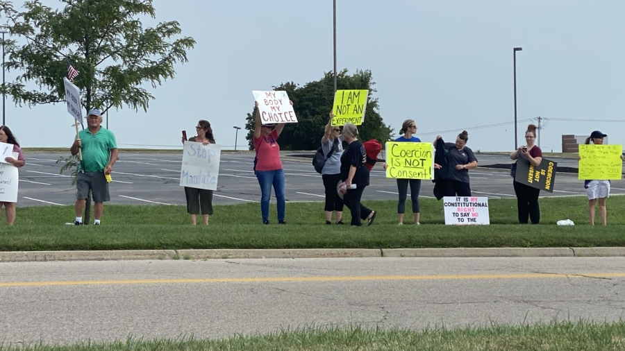 Kettering Health protest