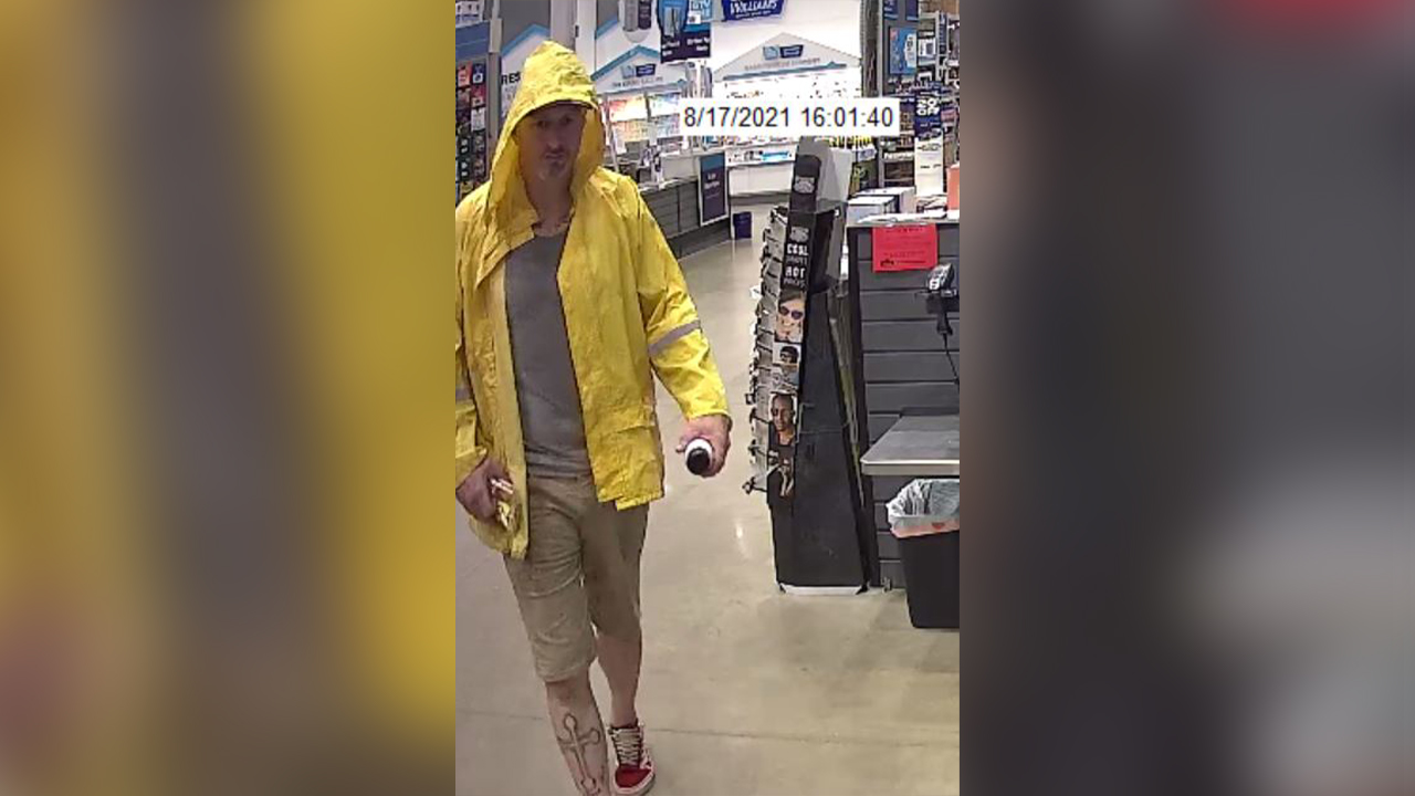 log splitter theft suspect