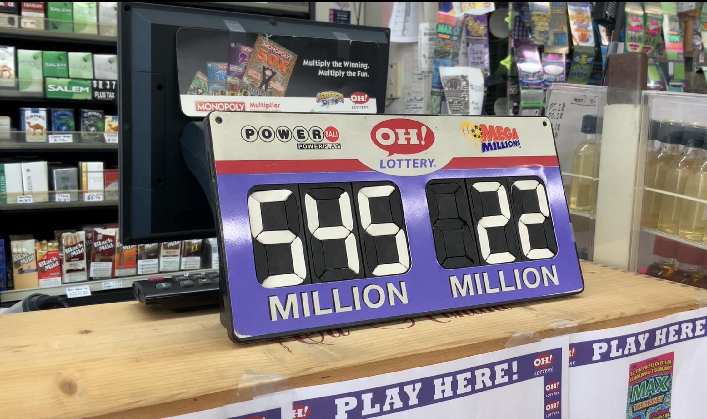 $545 million Powerball lottery