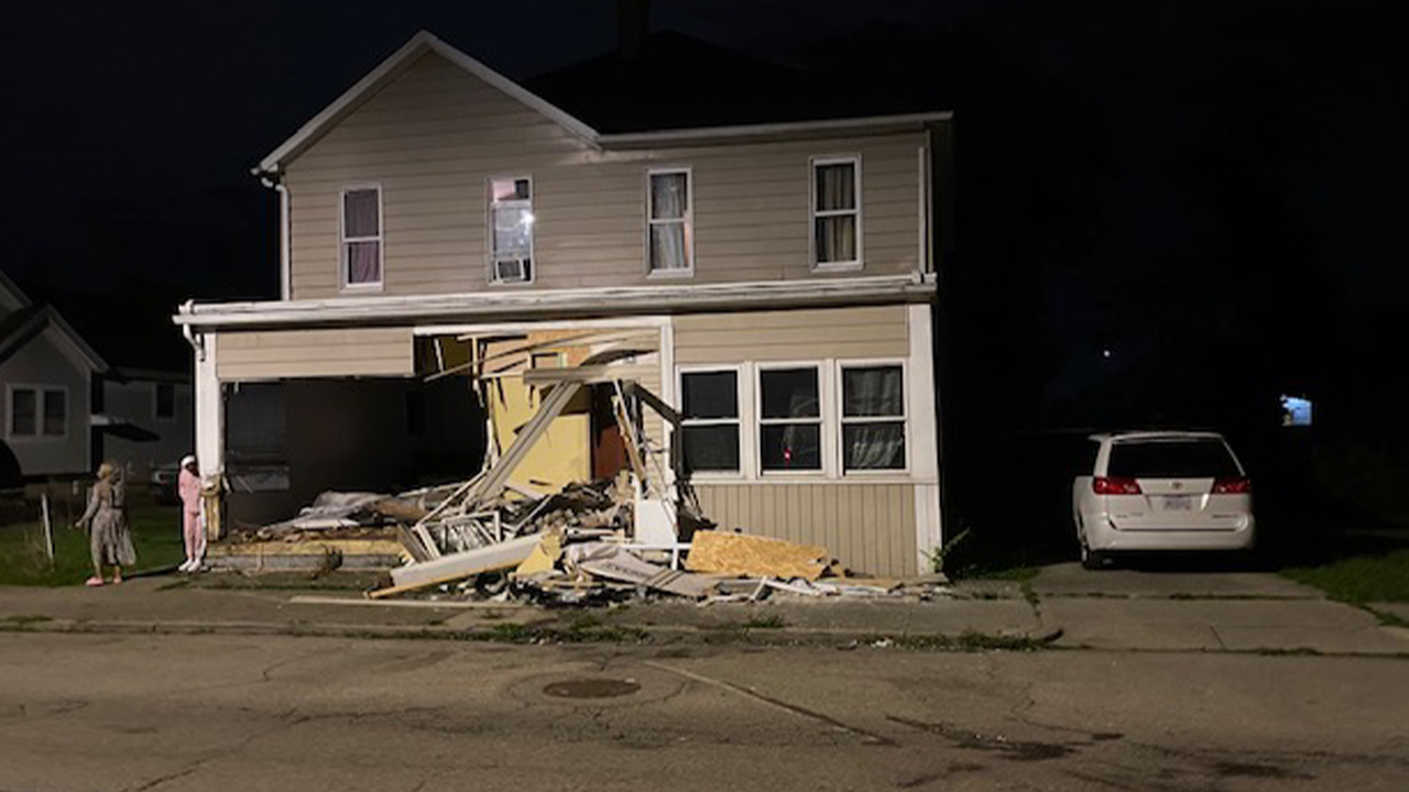 Car into Valley Street home