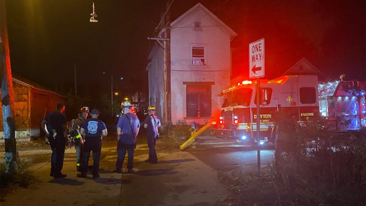 Dayton RV fire