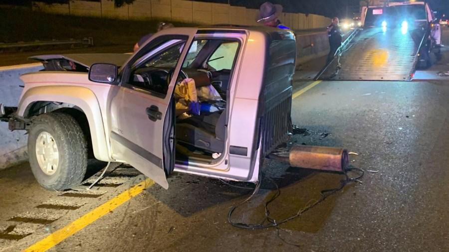 I-75 SEMI CRASH and pickup