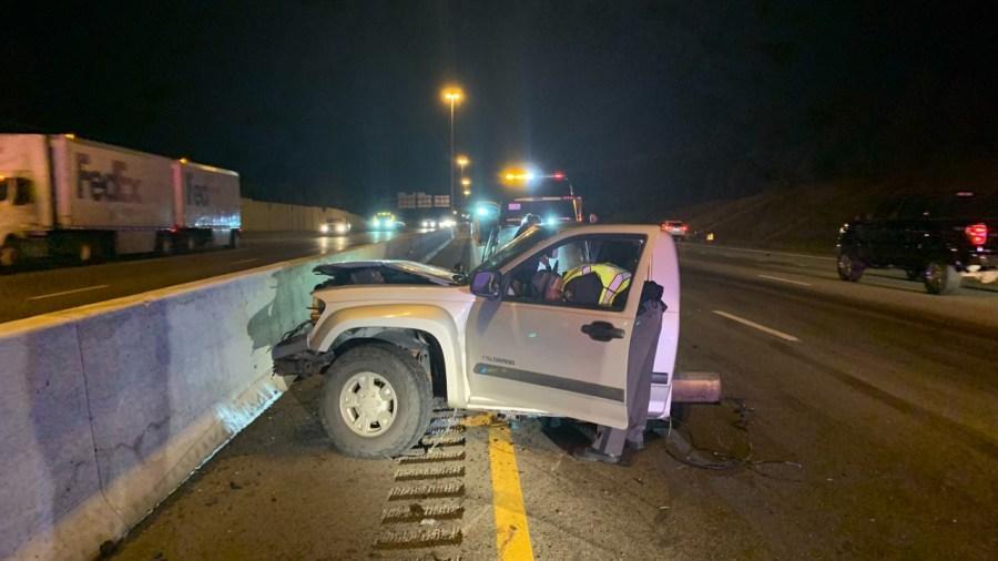 I-75 semi and pickup crash 2