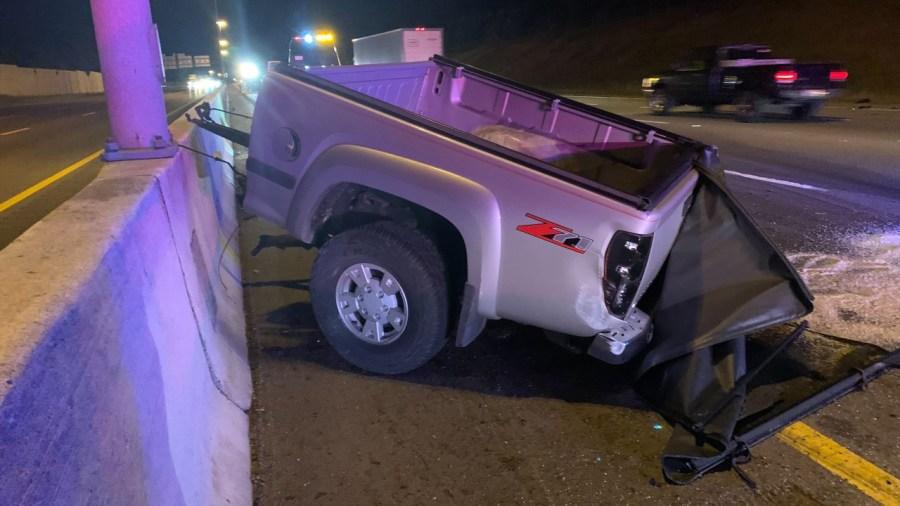I-75 semi and pickup crash