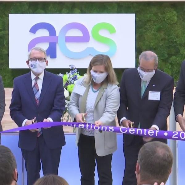 10-25 AES Ribbon Cutting