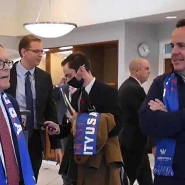 DeWine meets with FIFA
