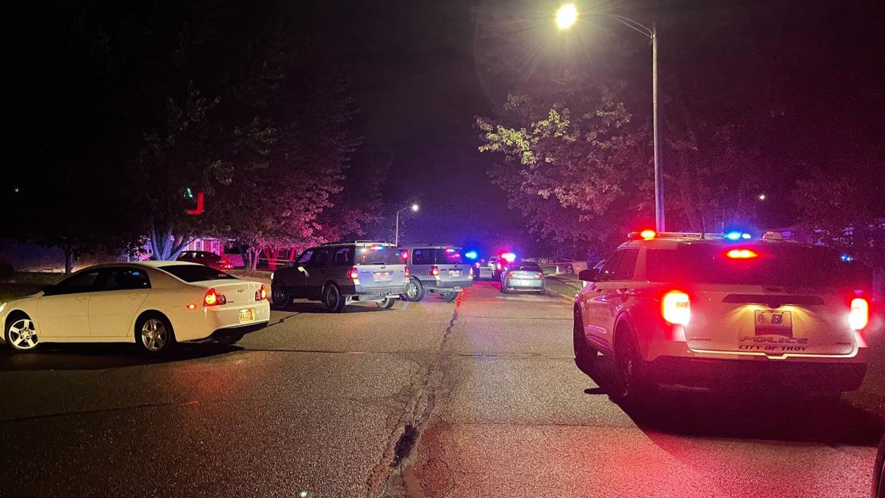 Police in Troy