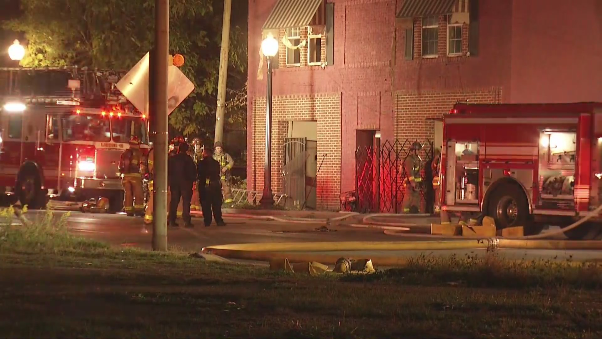 West Third Street and North Broadway Street fire snapshot